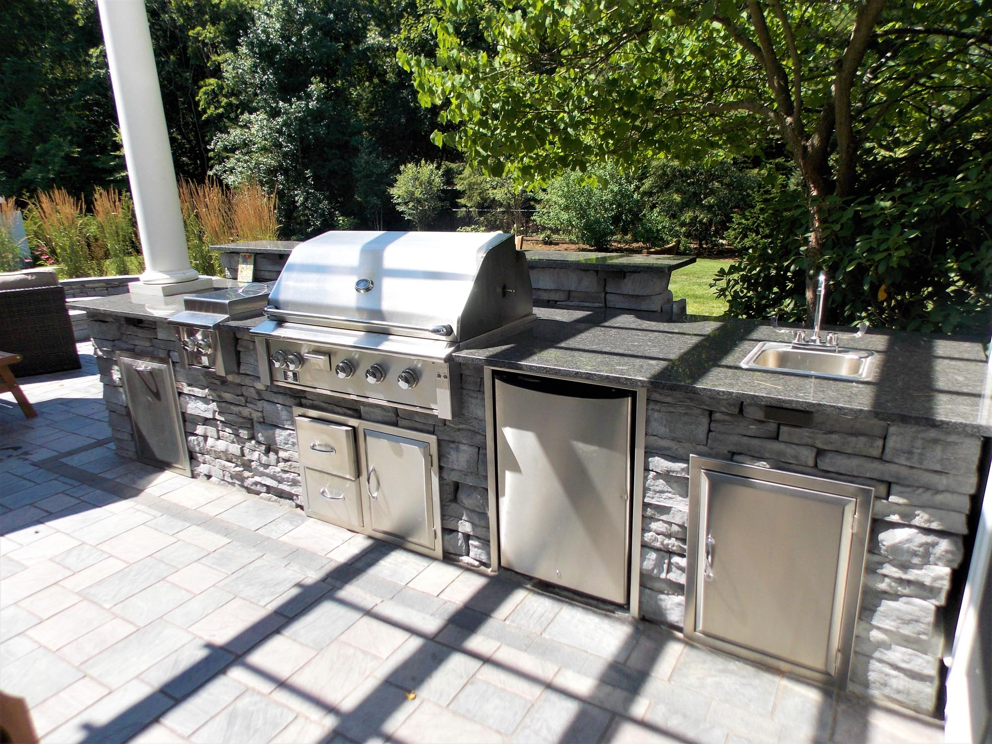outdoor grill design